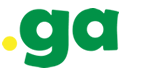 The logo for My GA, the site that administers the .ga domain