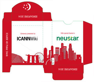 ICANN 49 Playing Cards